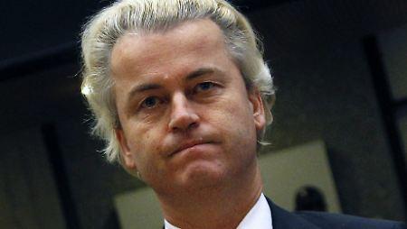 """""""Was wir in Holland erlebt haben, passiert nun auch in Deutschland"""", prophezeit Wilders."""