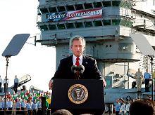 Siegesmeldung Bush