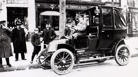 Renault-Taxi in London, 1907