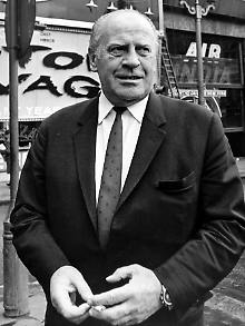 Oskar Schindler, hier 1967 in London, starb 1974.