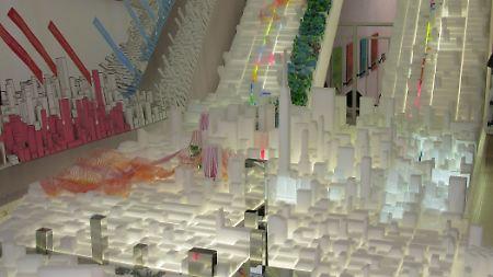 Ein Entwurf für Manhattan: Die Welt von morgen wird anders aussehen