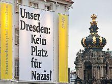 Die ganze Stadt hatte sich an den Protesten gegen den Nazi-Aufmarsch beteiligt.