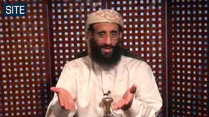 Um vídeo com o ódio pregador Anwar al-Awlaki a partir do ano de 2010.