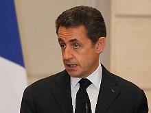 Keine Gelassenheit bei Nicolas Sarkozy.