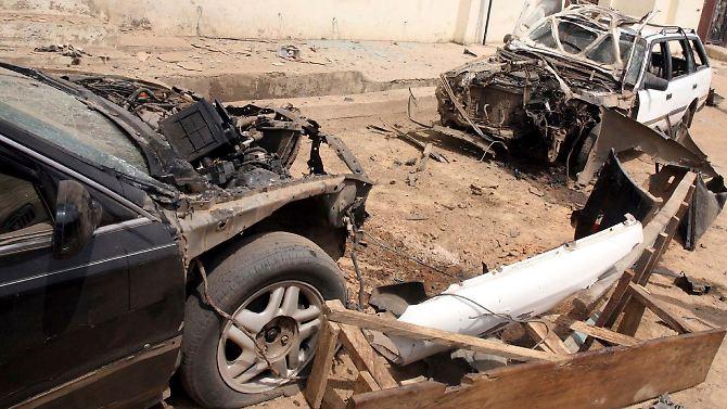 Explosões e violência no norte da Nigéria tornaram-se para a vida diária.