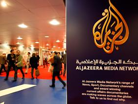 A estação de televisão Al-Jazeera tem sido uma constante na mídia internacional.