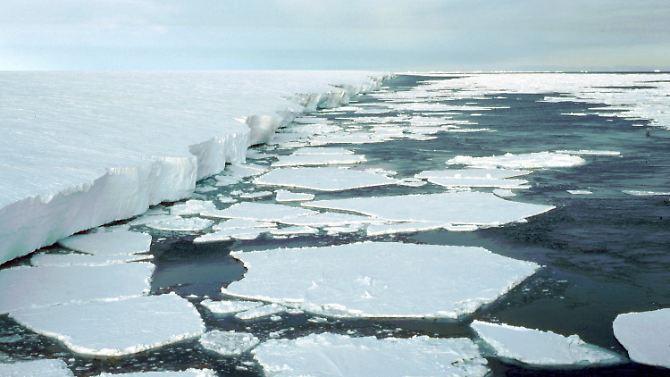 Nas próximas décadas, pode haver na Antártida, uma reação em cadeia devastador.