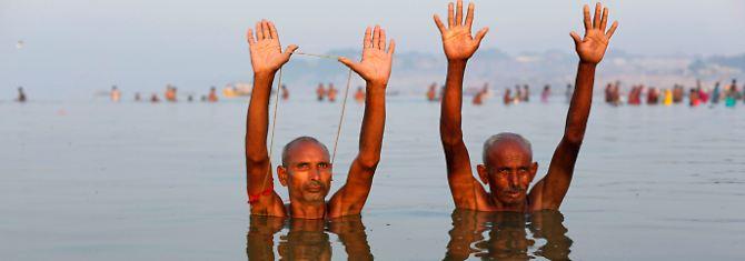 Mesmo um banho no Ganges é despertar poderes inesperados.