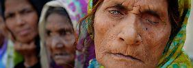 Ainda assim, as pessoas em Bhopal sob as sequelas do desastre.