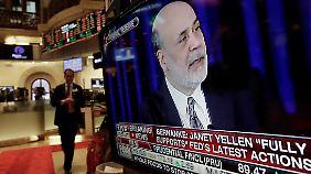 Bernankes Abschiedsgeschenk: Fed drosselt Konjukturspritzen