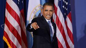 """O presidente dos EUA está no topo da """"Forbes"""" lista."""